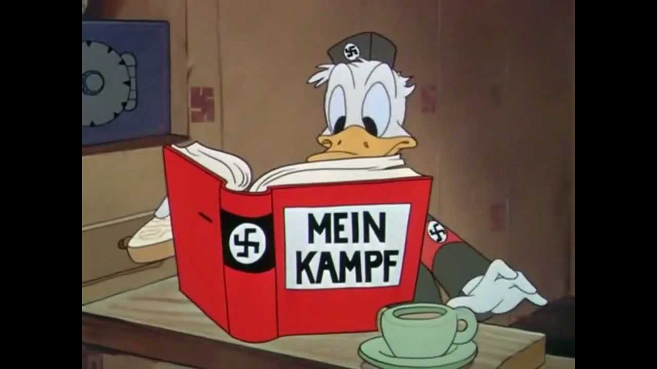 Image result for NAZI Mighty CARTOON