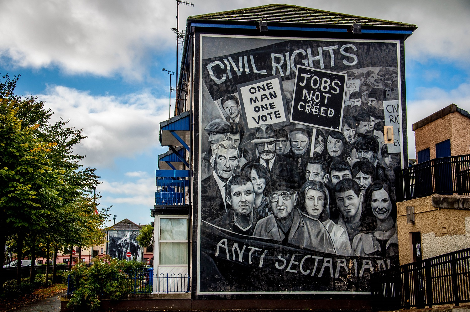 The writing on the wall a review by harry mcavinchey for Mural ireland